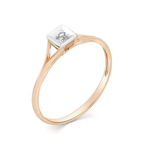 Кольцо с бриллиантом кл1-107-231 Б-Б
