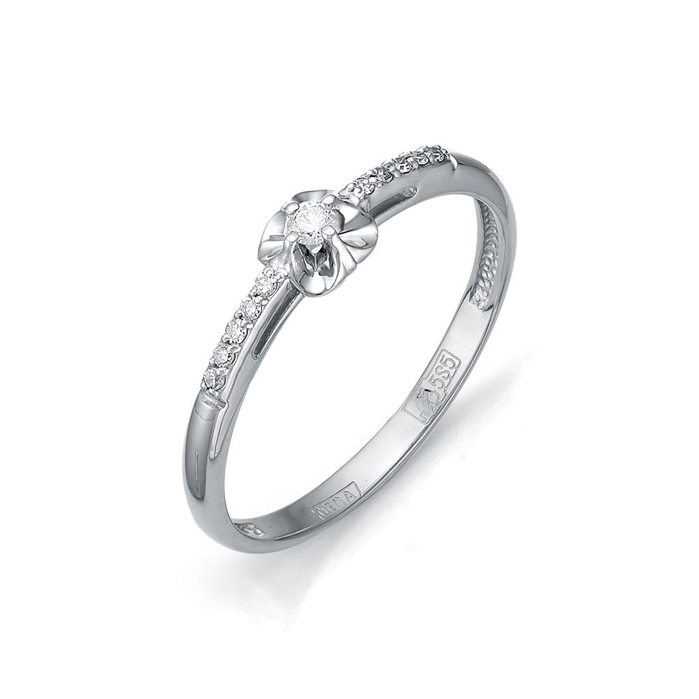 Кольцо с бриллиантом  кл1-105-711 Б-Б